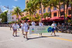 The 8th Annual Miami Beach Gay Pride Parade - stock photo