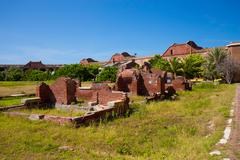 Fort Jefferson in the Dry Tortugas Stock Photos