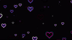 Flying heart Stock Footage