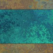 Abstract rusty metal Stock Illustration