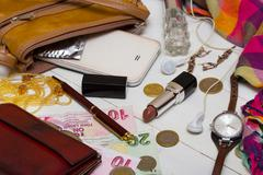 handbag - stock photo