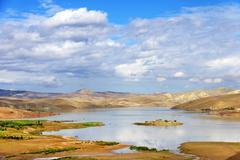Middle Atlas Mountains - stock photo