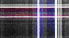 Abstract digital data forms flicker, ripple and pulse - TV Noise 0993 HD, 4K Stock Footage