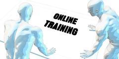 Stock Illustration of Online Trading