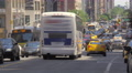 Commercial use footage busy street traffic Manhattan New York City NYC cars day Footage