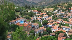 Village life in Sirince, organized around the rhythms of nature - stock footage