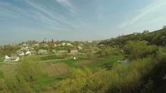 City view Kamenetz-Podolsk Stock Footage