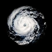 Global storm space vortex Guillermo Elements of this image furnished by NASA - stock illustration