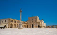 Sanctuary of Santa Maria di Leuca, Puglia, Italy - stock photo