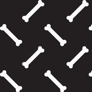 Bone forn food seamless pattern background - stock illustration