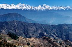 Himalayas nepal Stock Photos
