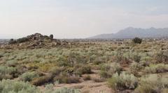 Albuqurque High Desert New Mexico Stock Footage