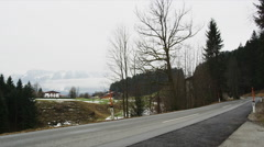 Wildbichl, at the German-Austrian Border Stock Footage
