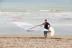 Windsurfer Stock Photos
