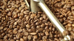 Close-up of the cooling coffee Stock Footage