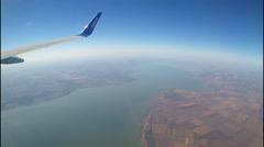 Aircraft AirlinesFlyDubai. Stock Footage