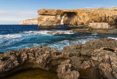 Azure Window, Gozo island, Malta Stock Photos