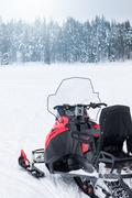 Snowmobile ready to go Kuvituskuvat