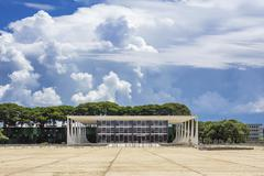 Federal Supreme Court in Brasilia, Capital of Brazil Stock Photos