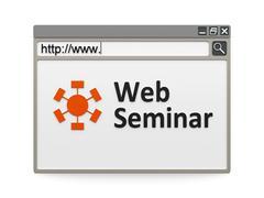 Web seminar Stock Illustration