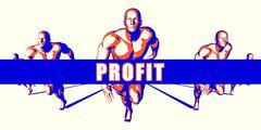 Stock Illustration of Profit