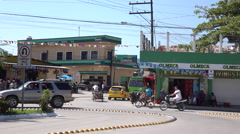 Downtown Santo Tomas de Castilla Guatemala - stock footage