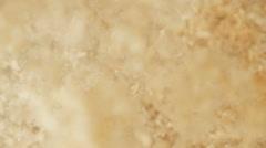 Sawdust in detail shot - stock footage