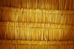 thatching roof texture - stock photo