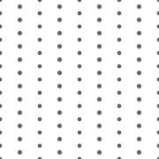 Seamless Black and White Pattern Created from Circles Stock Illustration