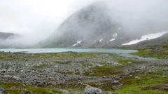 Norwegian mountain landscape, Oppland, Norway Stock Footage