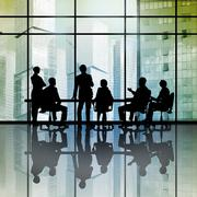 Businessteam at work Stock Photos