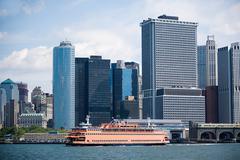 Staten island ferry - stock photo