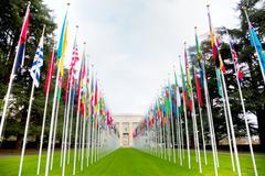 United Nations palace in Geneva Kuvituskuvat
