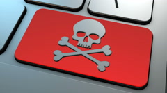 4K Illegal Pirate Downloads - stock footage
