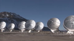 Paranal Observatory - Astronomical Observatory - stock footage
