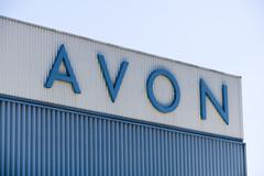 Avon Corporation Distribution Center and Logo - stock photo