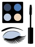 Make Up Vector Stock Illustration