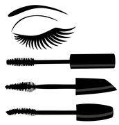 Make Up Vector - stock illustration
