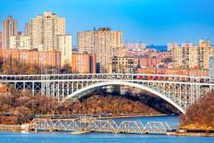 Henry Hudson Bridge Stock Photos