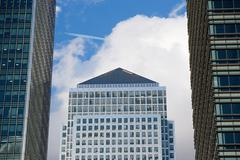 Canary wharf tower Stock Photos