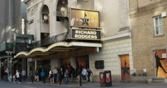 Popular Hamilton Musical on Broadway New York 4K Stock Video Stock Footage