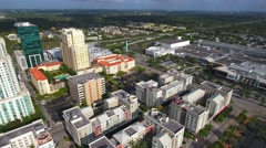 Dadeland Mall shot with a drone 4k Stock Footage