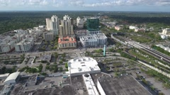 Aerial drone video Dadeland Stock Footage