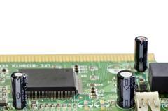 Old computer circuit Kuvituskuvat