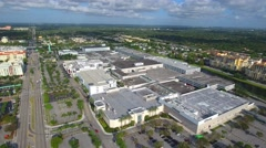 Dadeland Mall and Downtown Dadeland FL 4k Stock Footage
