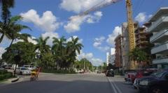 Bay Harbor Island Miami Beach new construction Stock Footage