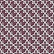 Seamless Colorful Pattern Created from Circles Stock Illustration