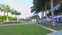 Stock video Marline Park baseball stadium Miami 4k - stock footage