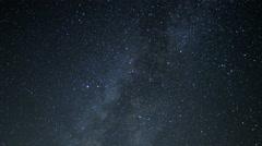 4K Milky Way Galaxy Time Lapse 20 Mojave Desert California Stock Footage