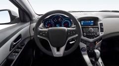 Car interior panoramic shot Stock Footage